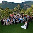 Colorado Green Wedding at Lionscrest
