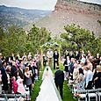 Foothills of Colorado Outdoor Ceremony at Lionscrest