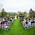 Outdoor Ceremony Lawn at Lionscrest