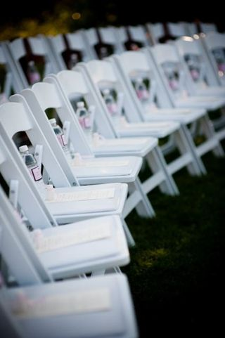 Mountain Reception CO Ceremony Lawn Chairs Lionscrest Manor