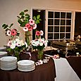 Lionscrest Manor Buffet Room- Simple Display