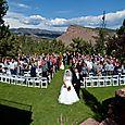 September Wedding Ceremony at Lionscrest