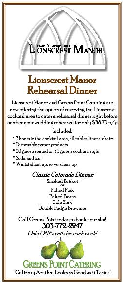 Greens Point Rhsl Dinner