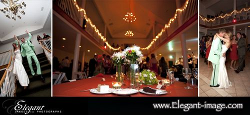 Colorado Green Wedding Reception