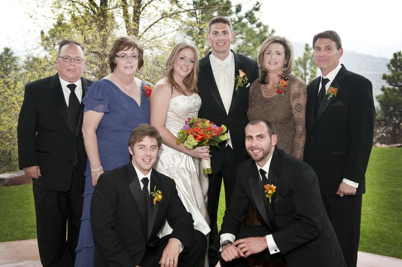 CO Family Wedding Photo