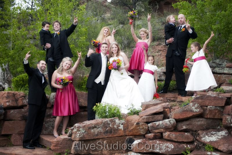 Lyons Outdoor Wedding