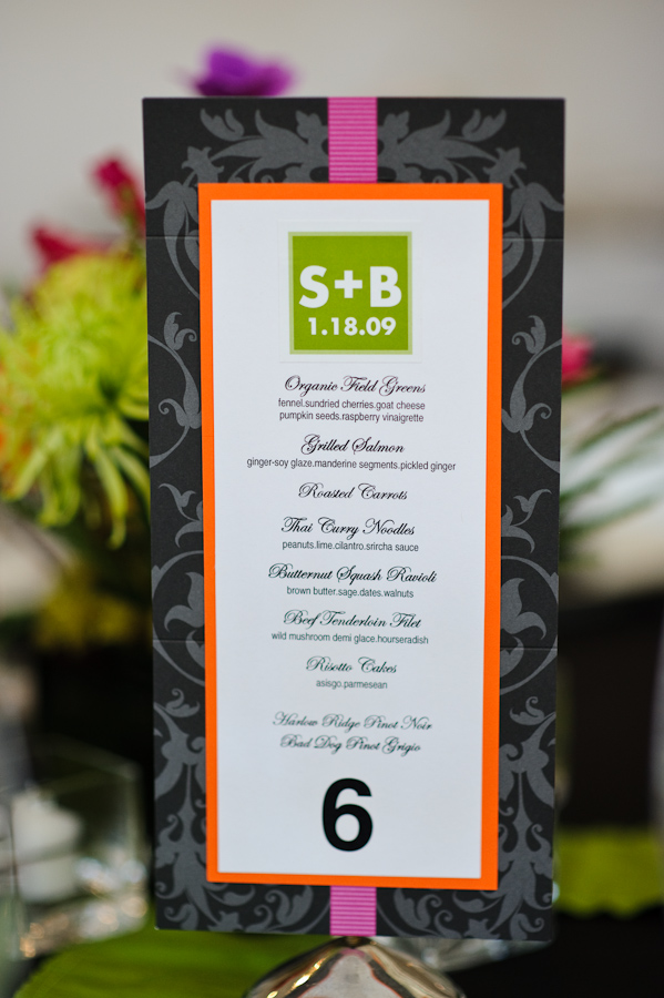 Elegant Images Reception Menu Beef Tenderloin Family Style