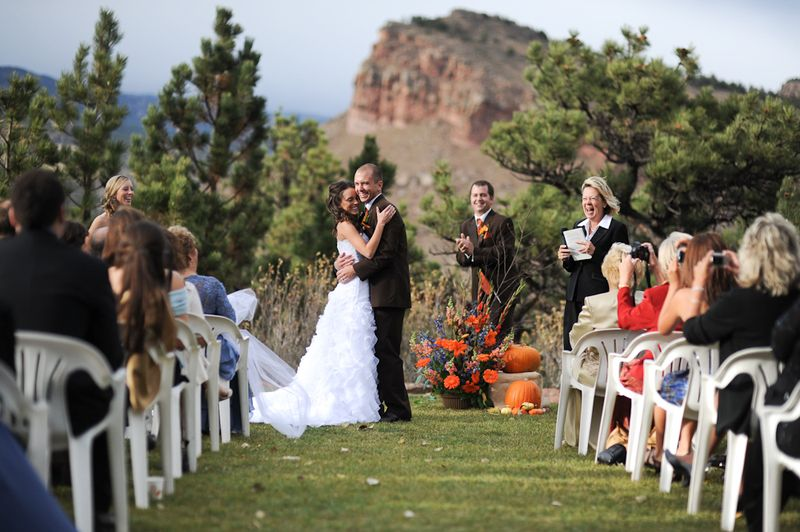 Colorado Fall Outdoor Wedding Falling in Love with the idea of a Colorado