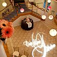 Wedding Reception at Lionscrest- Dance Floor with GoBo