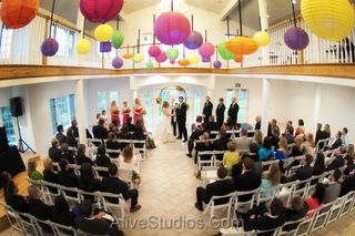 Colorado Indoor Wedding Ceremony