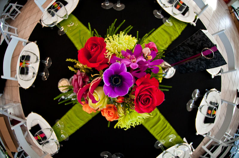 Elegant Images - Vibrant Reception Table